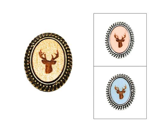 Large Cameo Ring - Deer Head