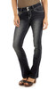 Luscious Curvy Push Up Bootcut Jeans In Allison