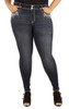 Plus Size Luscious Curvy Bling Skinny Jeans In Libby