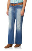 Plus Size Luscious Curvy Belted Bootcut Jeans In Brodie