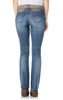 Legendary Belted Slim Bootcut Jeans In Galaxy