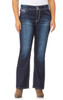 Plus Size Luscious Curvy Bootcut Jeans In Kyle