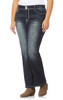 Plus Size Luscious Curvy Bling Bootcut Jeans In Betsy