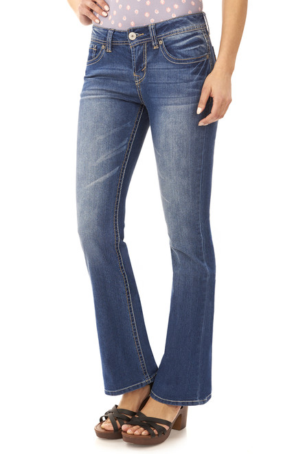 "Basic Legendary Bootcut Jeans (32-34"") In Kristen"