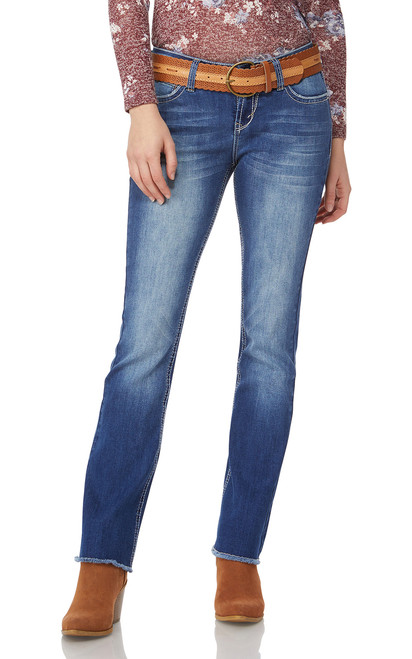 Legendary Belted Bootcut Jeans In Michelle