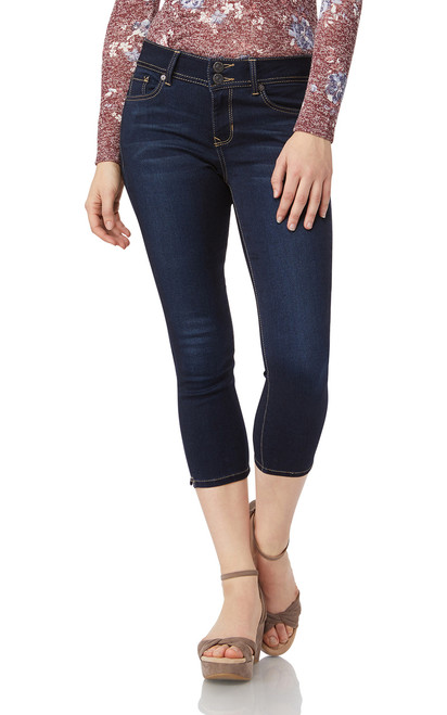 Insta Soft Ultra Skinny Crop Jeans In Lake