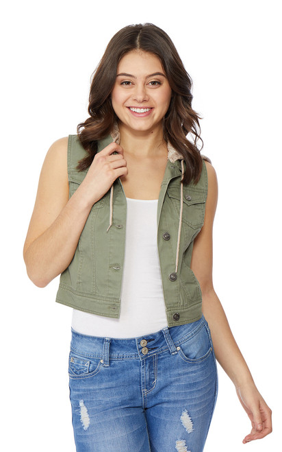 Dreamer French Terry Vest In Mojito