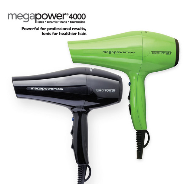 Turbo Power Twin Turbo Mega Power 4000 Professional Hair Dryer
