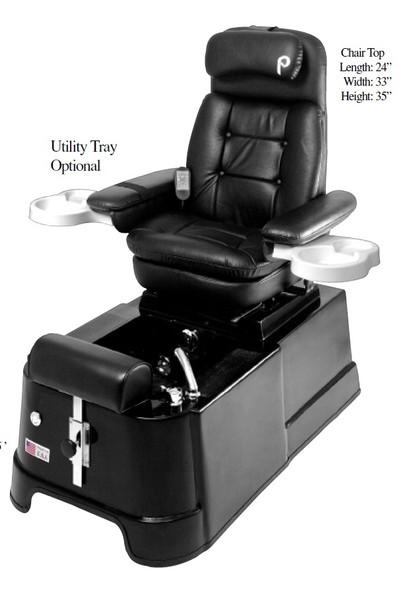 Pibbs Ponza Pipe Free Spa Pedicure Chair