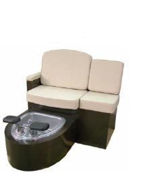 Belvedere Capri Pedicure Unit With Pipe Free Clean Technology