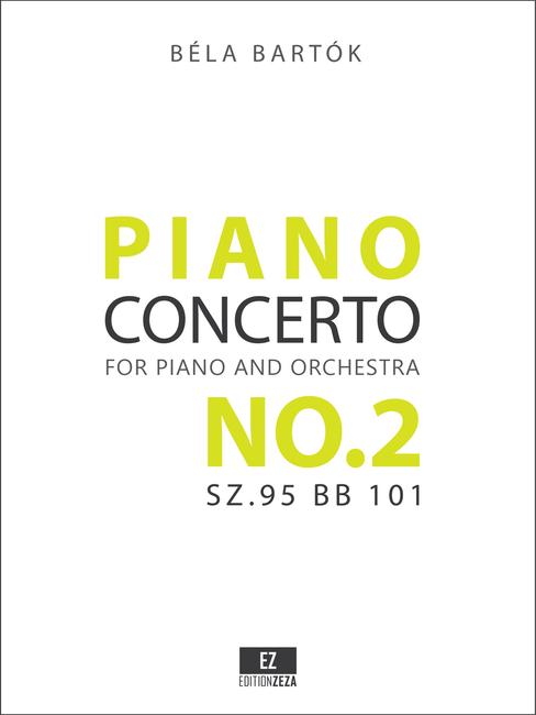 Bartok Piano Concerto No.2 Score and Parts