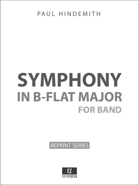 Sheet music for Hindemith Symphony in B Flat - Score and Parts