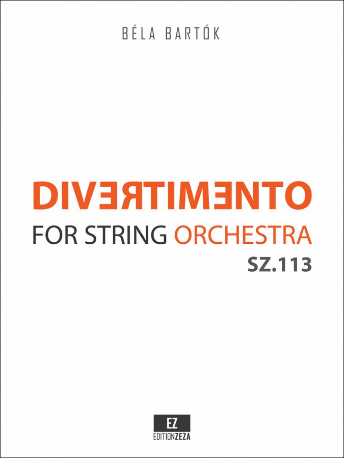 Bartók Divertimento for String Orchestra Score & Parts