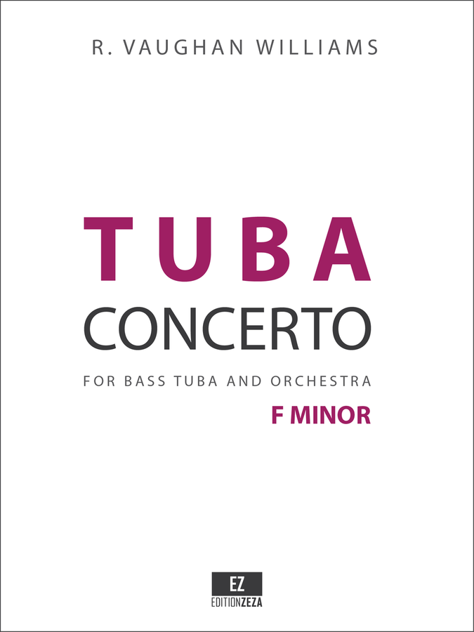 Vaughan Williams Tuba Concerto, Score and Parts