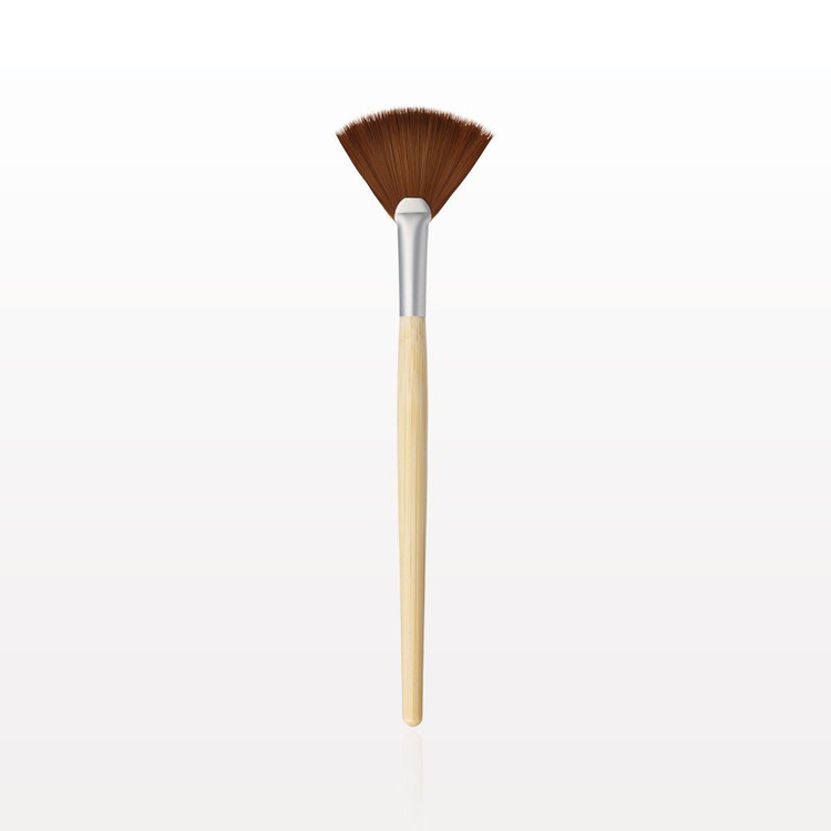 Vegan Bamboo Fan Brush