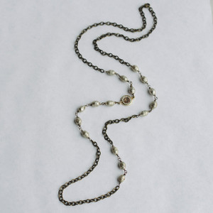 African Prayer Bead Necklace