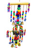1480 Chain waterfall tower is a sensory overload for your medium to large-sized feathered friend.