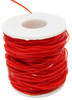Red color 9194 Plastic Craft Cord 300 feet