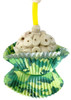 1925C Camo Cup Cake bird toy, celebrate in style with this camo colored foraging birthday toy.