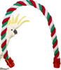 R32 Bonka Bird Toys This soft cotton rope perch is made from bird safe materials, this perch can be placed wall to wall in your cage to sit horizontally.