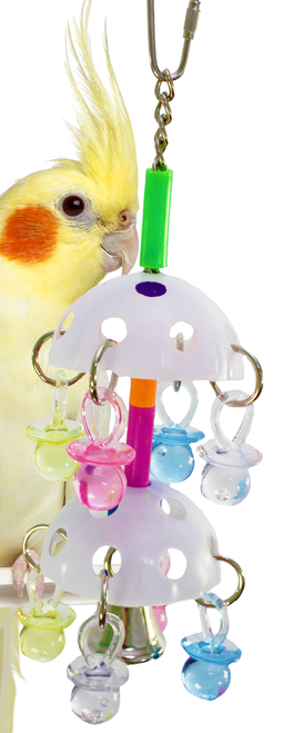 1064 Paci Tower is an aerial gym for those active small to medium-sized feathered friends in your family.