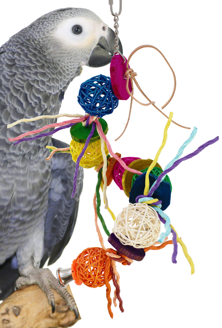 """1373 Twist """"N"""" Chew will be a cage favorite for those small to medium-sized birds with busy beaks."""
