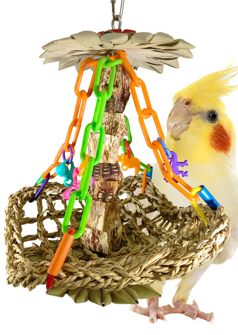 01091 Tree House is a true favorite amongst your small to medium-sized feathered friends.