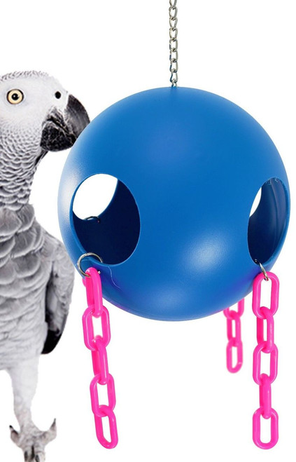 1439 Large Jolly Ball is the perfect hideaway for your small to medium-sized feathered friends.
