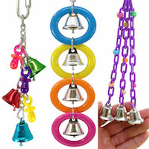 What are good selling bird toys with bells?