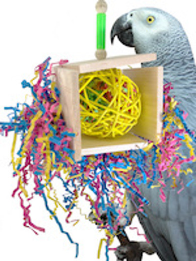 What is a quality balsa bird toy?