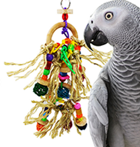 What is a good small Preening bird toy?