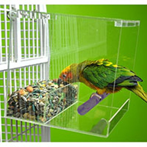 Keep your Medium Bird Tidy with the Large Tweeky Clean Feeder
