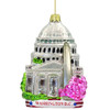 Glass Washington DC Christmas Ornament