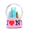 Pink NYC I Love NY Snow Globe