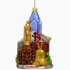 Philadelphia Christmas Ornaments Glass