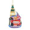 London Landmarks Glass Ornament