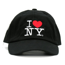 Black I Love NY Cap, Hat