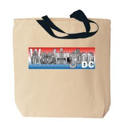 Washington DC Canvas Tote Bag