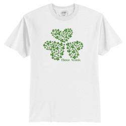 New York Multi-Shamrock T-Shirt