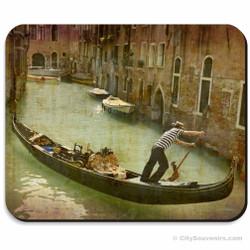 Venetian Gondolier Mousepad