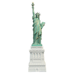 15 Inch Marble Statue of Liberty Statues from New York City