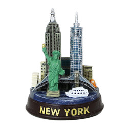 "3.5"" Round New York City Models"