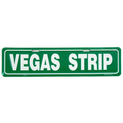 Vegas Strip Street Sign