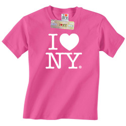 Hot Pink I Love NY T-Shirt, I Love NY shirts