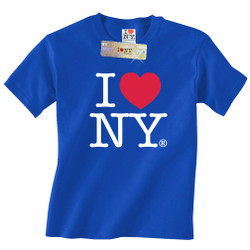 Royal Blue I Love NY T-Shirt