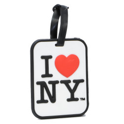 I Love NY Luggage Tag