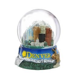 65mm Denver, Colorado Snow Globe