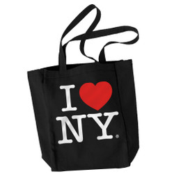 I Love NY Tote Bag Black