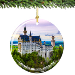 Germany Christmas Ornament of Neuschwanstein