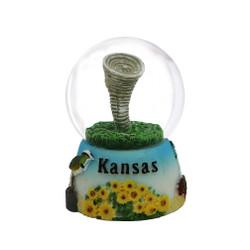Kansas Snow Globe